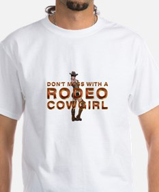 Rodeo Cowgirl Humor Shirt
