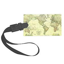 Unique Maps Luggage Tag