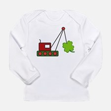 Funny Childrens irish Long Sleeve Infant T-Shirt