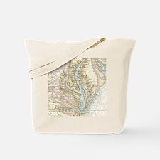 Unique Map Tote Bag