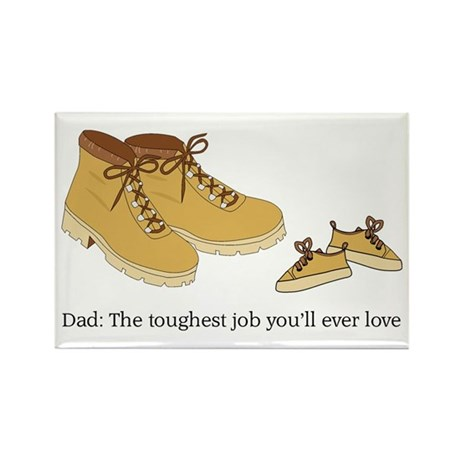 For Daddy Rectangle Magnet (100 pack)