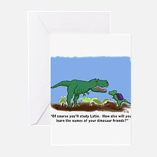 Cute Trex Greeting Cards (Pk of 20)