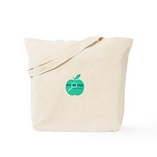 Who She Reads logo Tote Bag