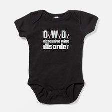 OWD Obsessive Wine Disorder Baby Bodysuit