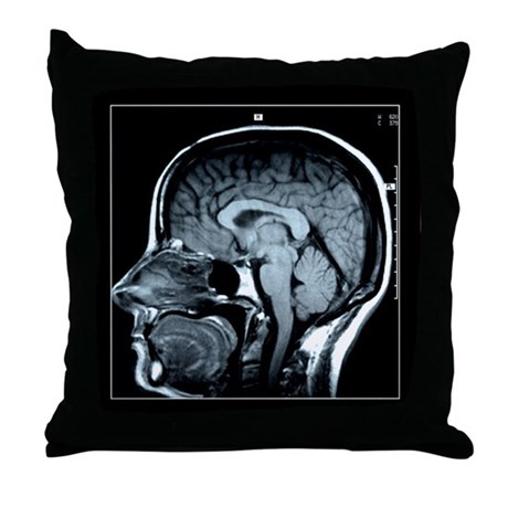 Get your Head Examined XRay Throw Pillow