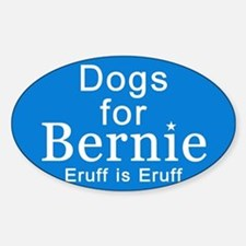 Cute Bernie sanders Sticker (Oval)
