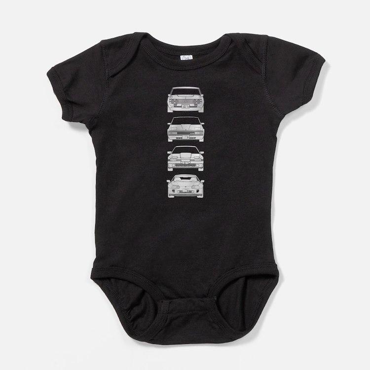 Cute Supra Baby Bodysuit