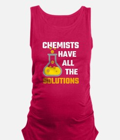 Chemists Have All The Solutions Maternity Tank Top