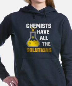 Chemists Have All The So Women's Hooded Sweatshirt