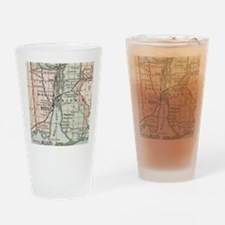 Unique Mobile alabama Drinking Glass