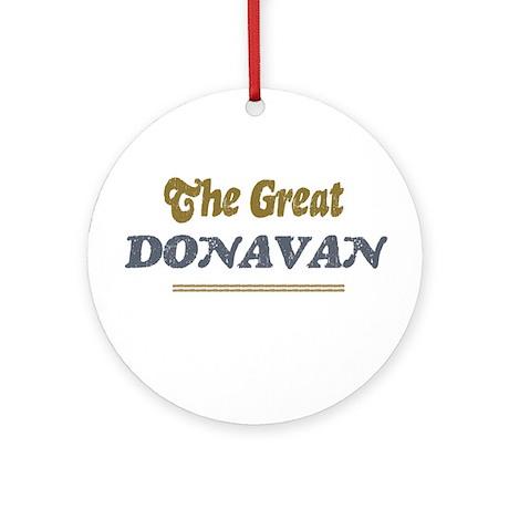 Donavan Ornament (Round)