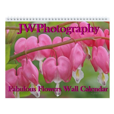 Fabulous Flowers Wall Calendar