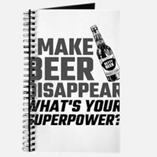 I Make Beer Disappear, What's Your Superpo Journal