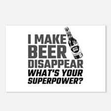 I Make Beer Disappear, Wh Postcards (Package of 8)