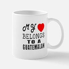 I Love Guatemalan Small Small Mug