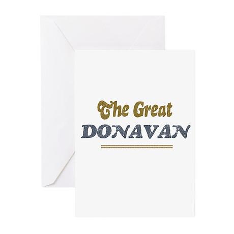 Donavan Greeting Cards (Pk of 10)