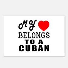 I Love Cuban Postcards (Package of 8)