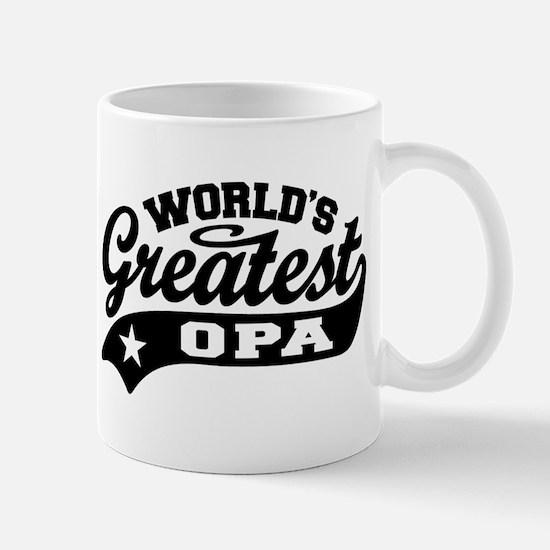 World's Greatest Opa Mug