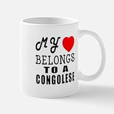 I Love Congolese Mug