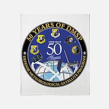 DMSP at 50! Throw Blanket