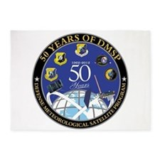 DMSP at 50! 5'x7'Area Rug