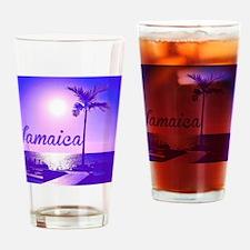 Unique Jamaica Drinking Glass