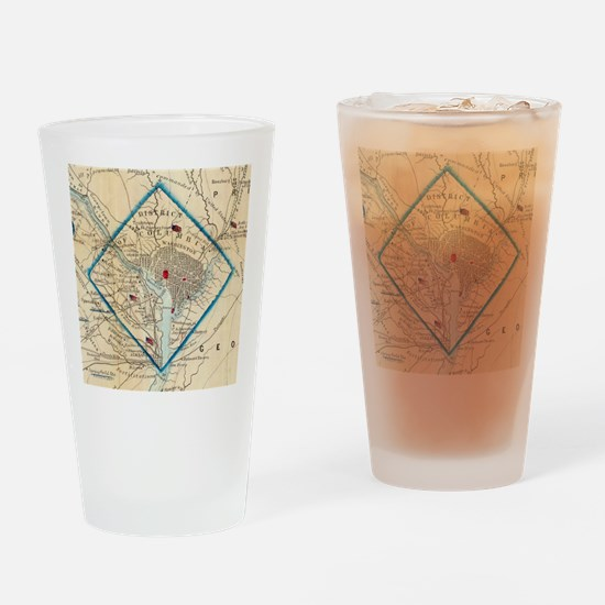 Cool Dc Drinking Glass