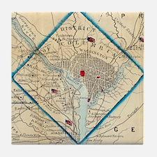 Cool Washington dc Tile Coaster
