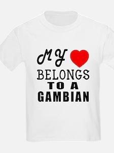 I Love Gambian T-Shirt