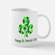 St. Patrick Shamrock Mugs