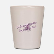 I'm the wicked stepmother they warned y Shot Glass