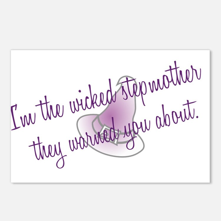 I'm the wicked stepmother Postcards (Package of 8)