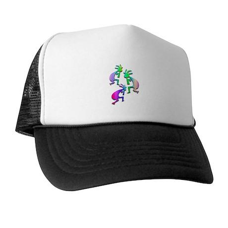 Multiple Pastel Kokopelli Trucker Hat