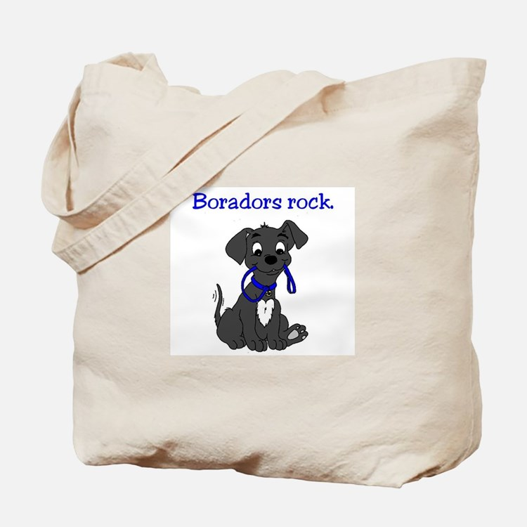 Boradors rock - designer dog breed deligh Tote Bag