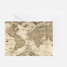Old world Greeting Card