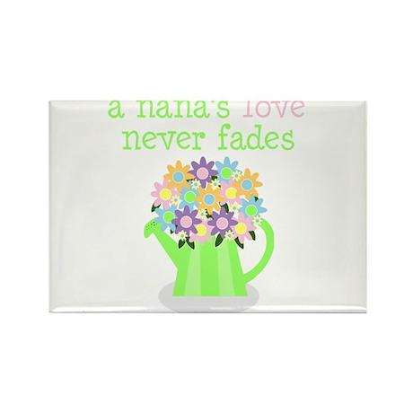 nana's love never fades Rectangle Magnet