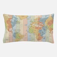 World map Pillow Case