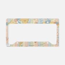 World License Plate Holder