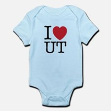 I Love UT Utah Infant Bodysuit