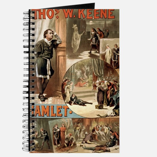 Vintage Hamlet Theatre Poster Journal