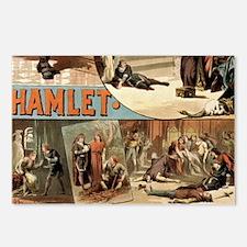 Vintage Hamlet Theatre Po Postcards (Package of 8)