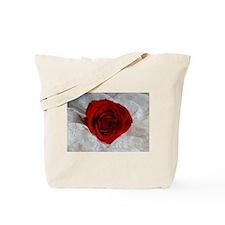 Wonderful Red Rose Tote Bag