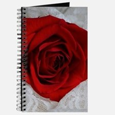 Wonderful Red Rose Journal