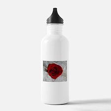 Wonderful Red Rose Water Bottle