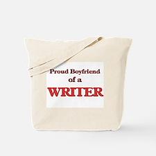 Proud Boyfriend of a Higher Education Adm Tote Bag