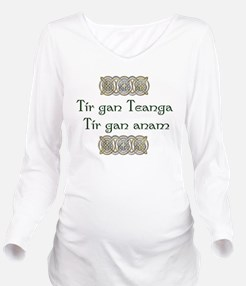 Funny Celtic nations Long Sleeve Maternity T-Shirt