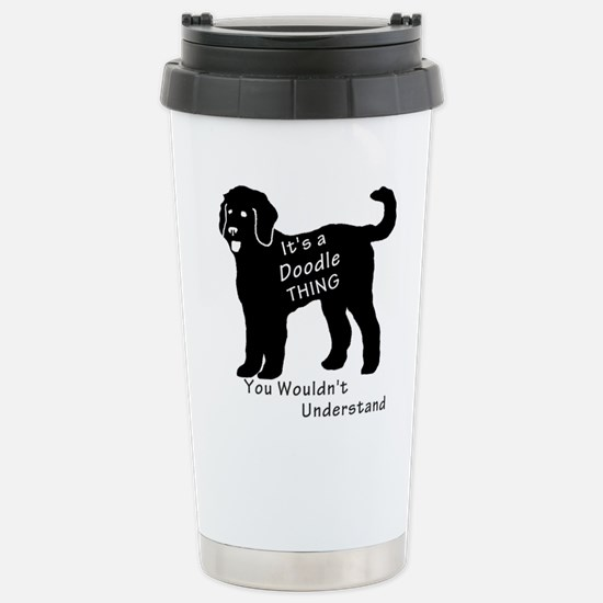 It's a Doodle Thing Stainless Steel Travel Mug