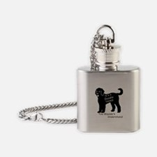It's a Doodle Thing Flask Necklace