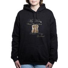 Unique National guard wife Women's Hooded Sweatshirt