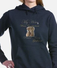 Funny National guard girlfriend Women's Hooded Sweatshirt